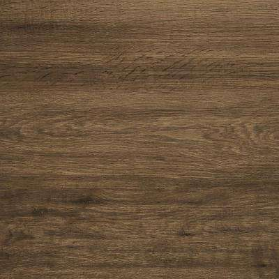 Take Home Sample - Trail Oak Brown Click Vinyl Plank - 4 in. x 4 in.