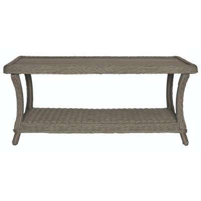 Brighton Cove Faux Patio Wood Coffee Table