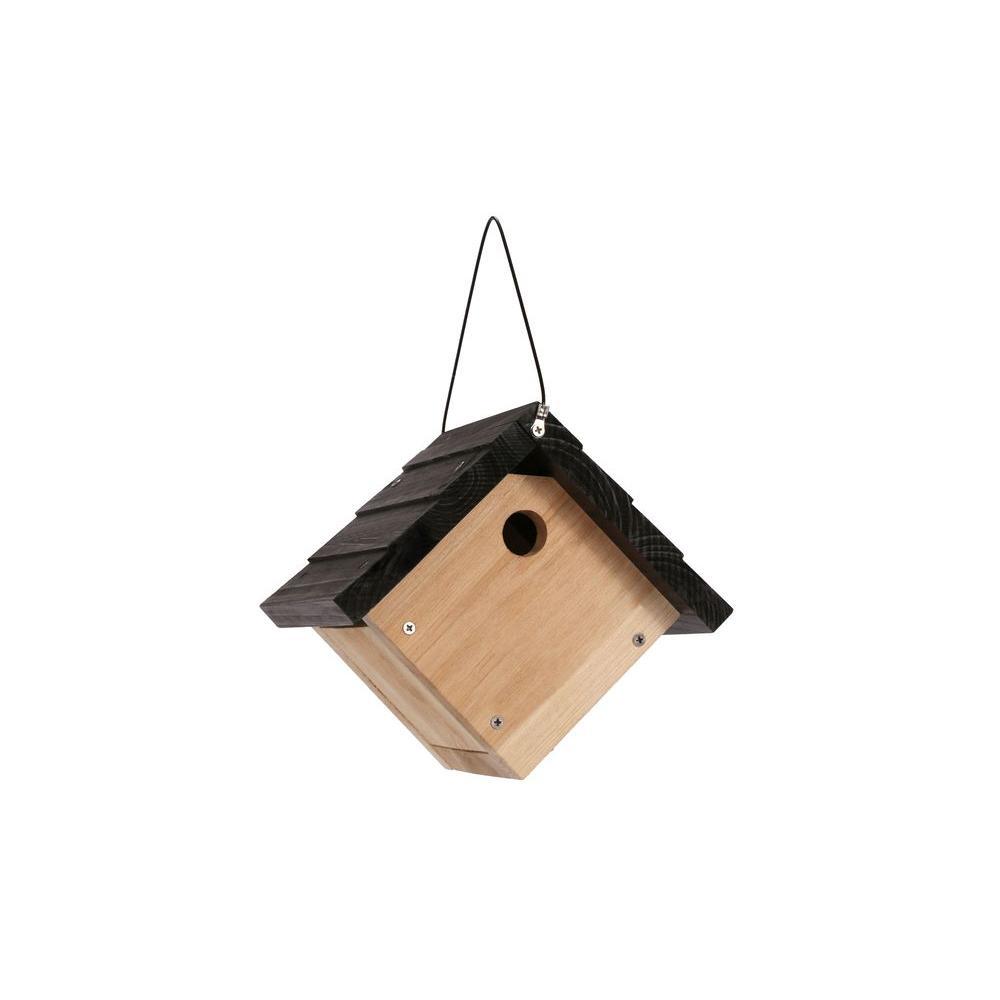 Cedar Wren Hanging Bird House