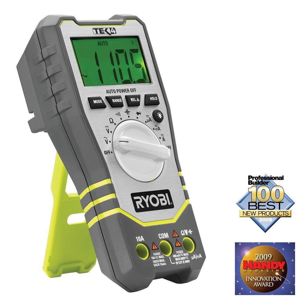 Ryobi Tek4 Professional Digital Multi-Meter