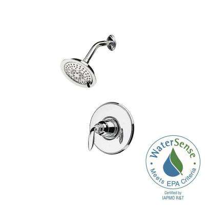 Avalon Single-Handle Shower Faucet Trim Kit in Polished Chrome (Valve Not Included)