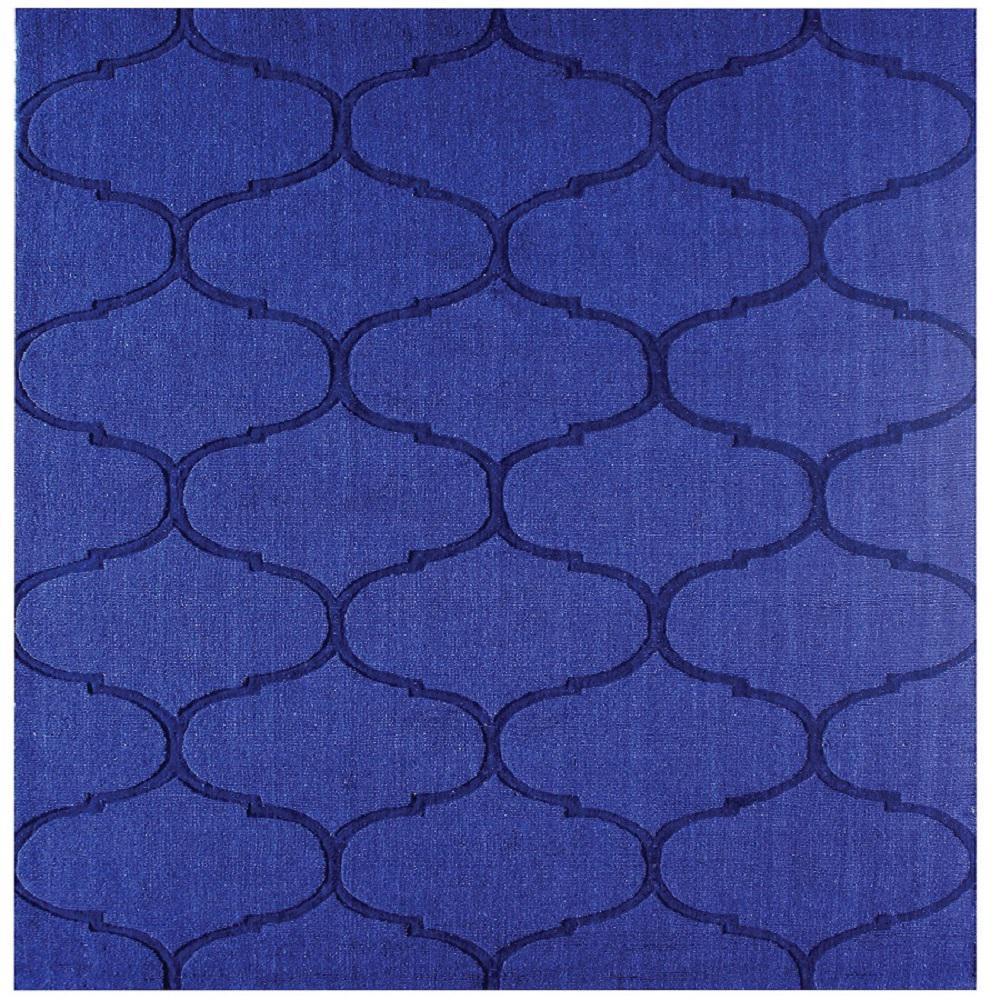 Dash Blue 1 ft. Square Indoor Area Rug