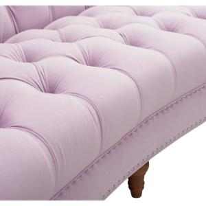 Superb Jennifer Taylor La Rosa Lavender Sofa 2525 3 952 The Home Theyellowbook Wood Chair Design Ideas Theyellowbookinfo