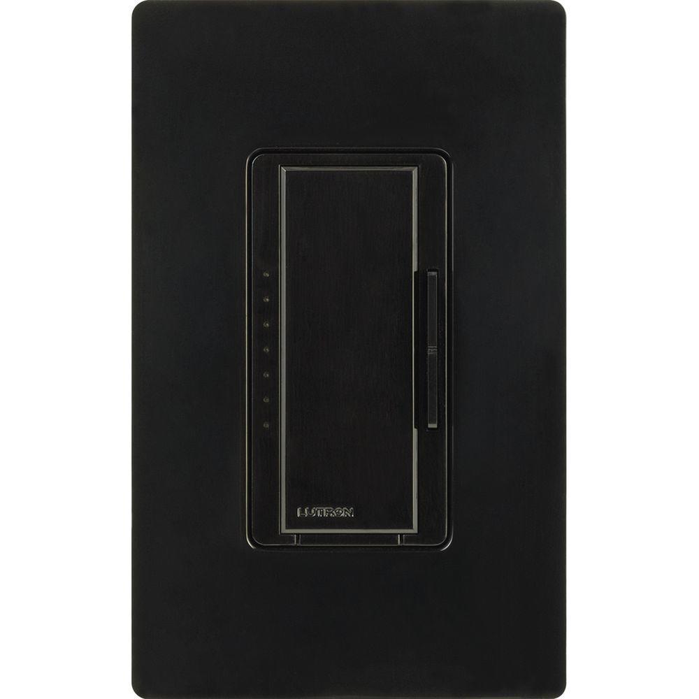 Maestro 1000-Watt Multi-Location Digital Dimmer - Black