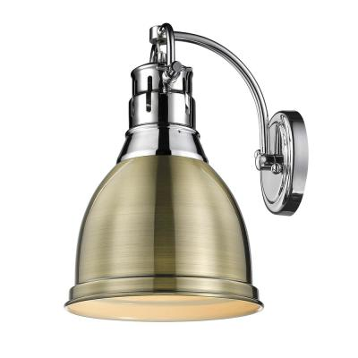 Duncan 4.875 in. Chrome Sconce