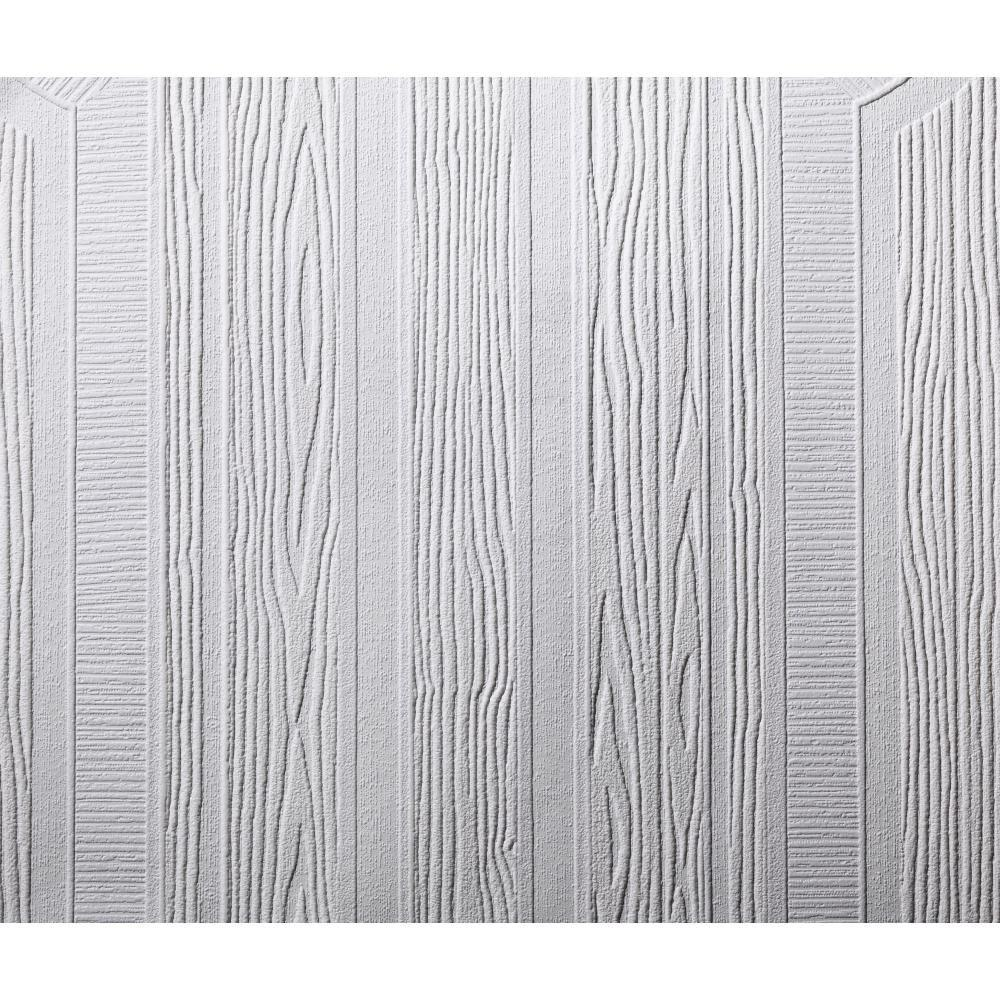 York Wallcoverings 57 sq. ft. Patent Decor Wainscot Paintable Dado Wallpaper