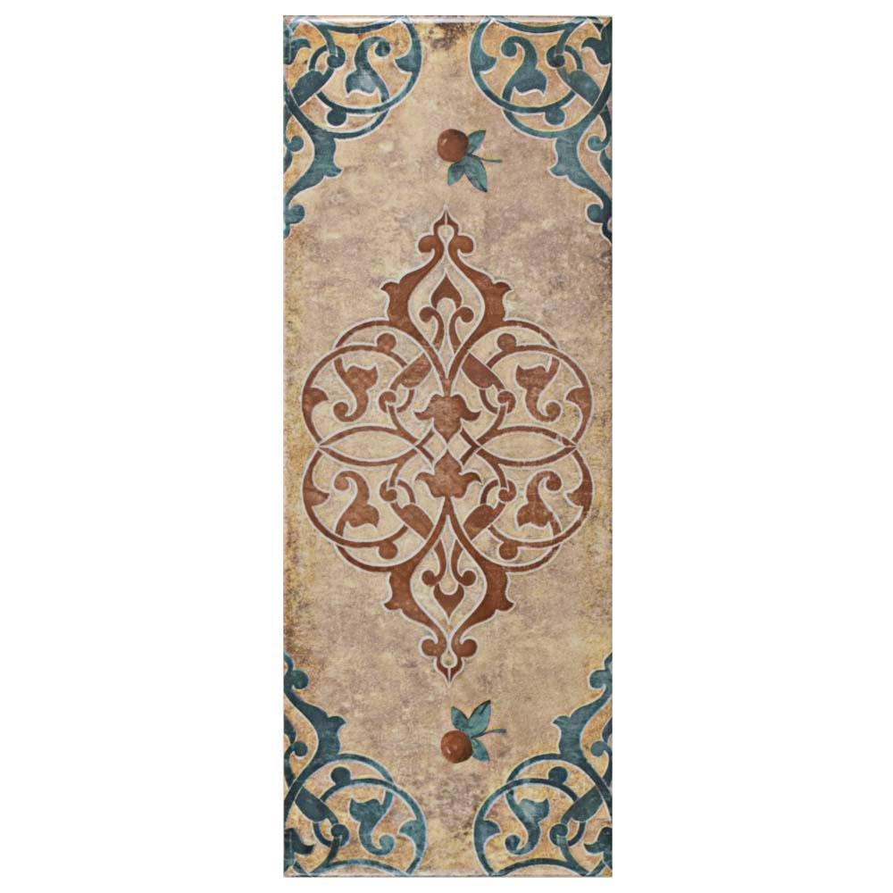 Forever Grafic Cream 5-7/8 in. x 15-3/4 in. Ceramic Wall Tile (10.9 sq. ft. / case)