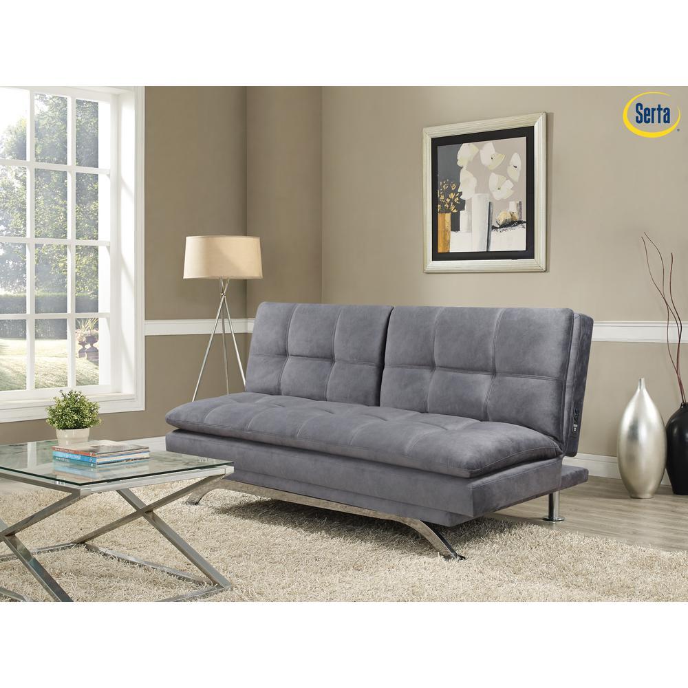 Serta Largo Light Grey Sofa With