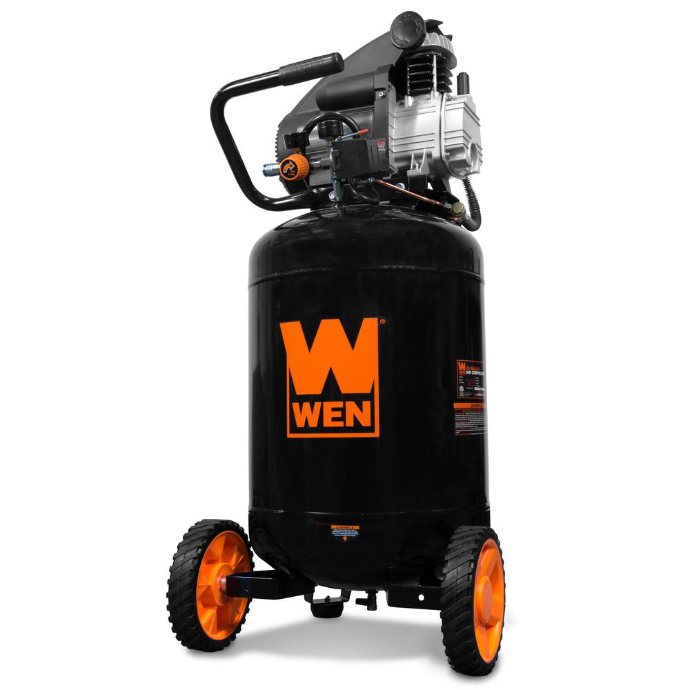 Oil Lubricated Portable Vertical Air Compressor