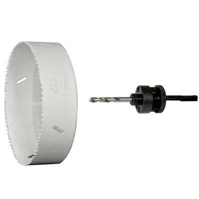 6 in. Bi-Metal Cobalt Hole Saw