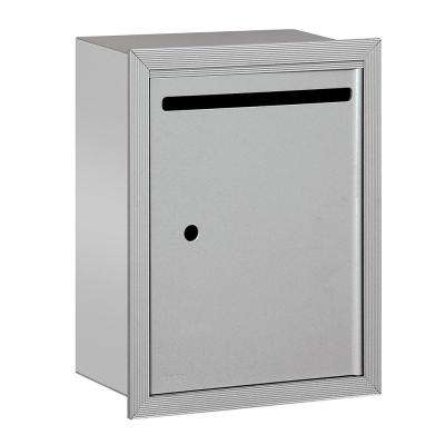 2240 Series Aluminum Standard Recessed-Mounted USPS Letter Box