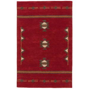 Jaipur Rugs Red Ochre 2 ft. x 3 ft. Tribal Accent Rug by Jaipur Rugs