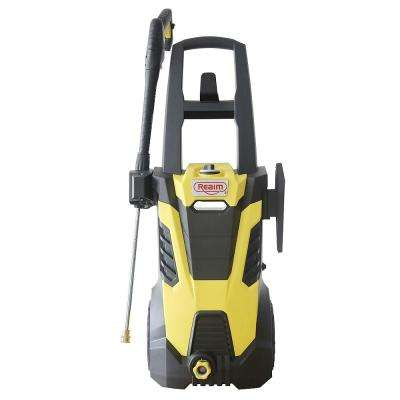 BY02-BIMH Electric Pressure Washer 2600 PSI 1.80 GPM 15 Amp with Induction Motor 50 lbs. Yellow Black