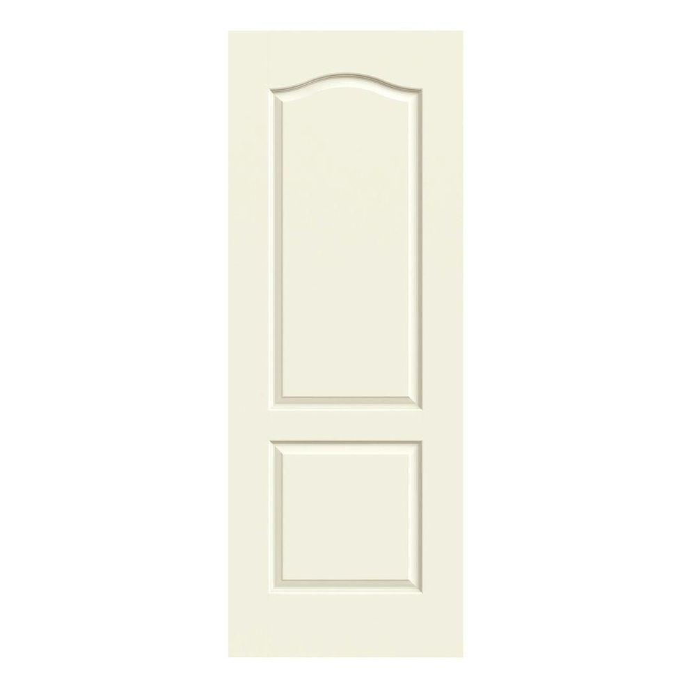 Jeld Wen 32 In X 80 In Princeton Vanilla Painted Smooth