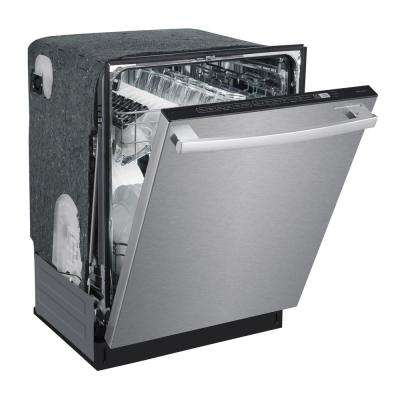 ENERGY STAR 24 in. Built-In Dishwasher with Smart Wash System and Heated Drying in Stainless