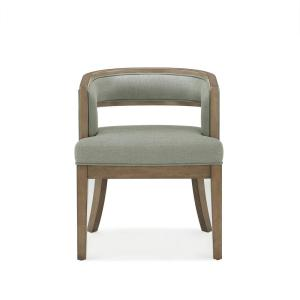 Amazing Dorel Living Brunswick Sage Gray Walnut Rounded Back Accent Pdpeps Interior Chair Design Pdpepsorg