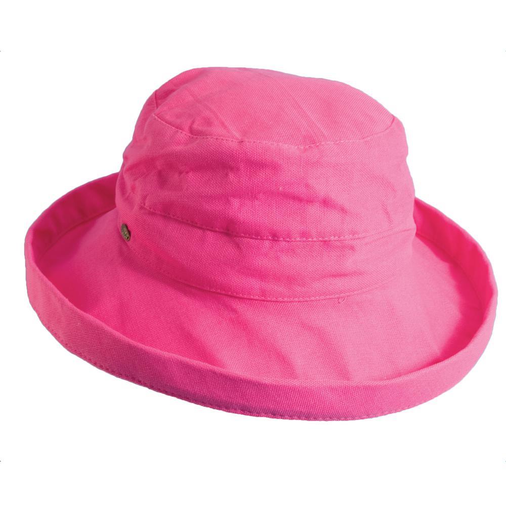 Med Brim Cotton Hat