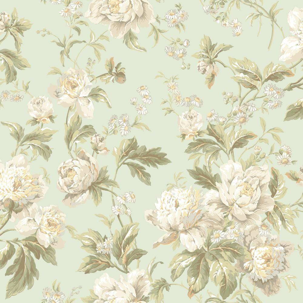 York wallcoverings waverly classics forever yours for Waverly wallpaper