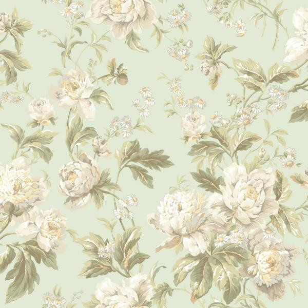 York Wallcoverings Waverly Classics Forever Yours Wallpaper Wa7805