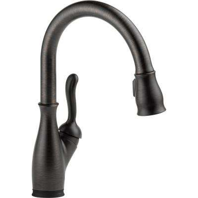 Leland Single-Handle Pull-Down Sprayer Kitchen Faucet with Touch2O and MagnaTite Docking in Venetian Bronze