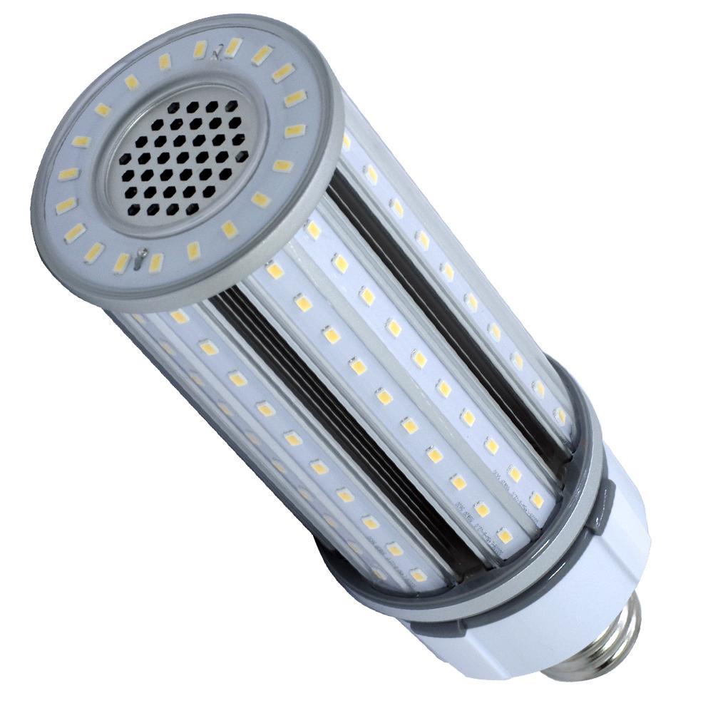 175-Watt Equivalent 45-Watt Corn Cob ED28 HID LED High Bay Bypass Utility Light Bulb Mog 120-277V Cool White 4000K 84010
