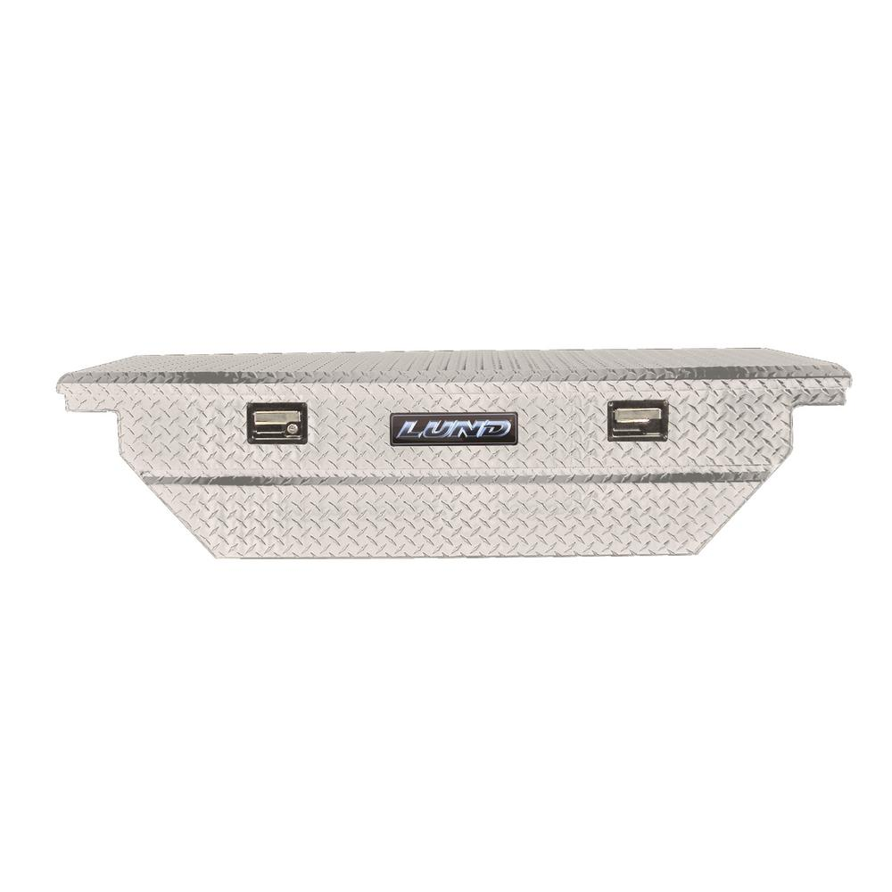 63 in. Mid Size Single Lid Aluminum Beveled Low Profile Cross