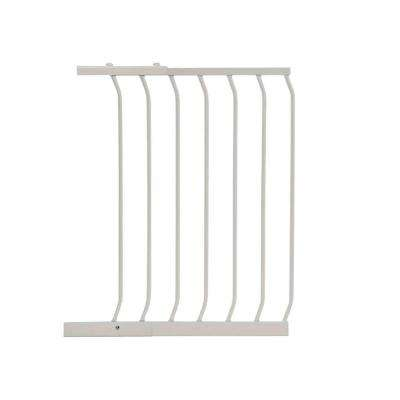 21 in. Gate Extension for White Chelsea Standard Height Child Safety Gate