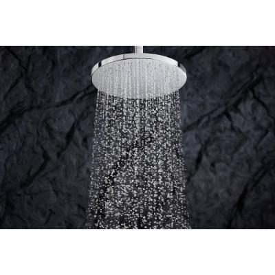 1-Spray 10 in. Single Ceiling Mount Fixed Rain Shower Head in Vibrant Brushed Bronze