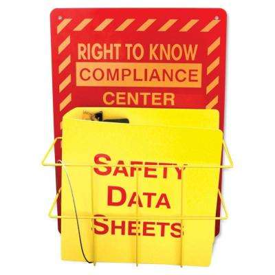 Right to Know Center Safety Rack