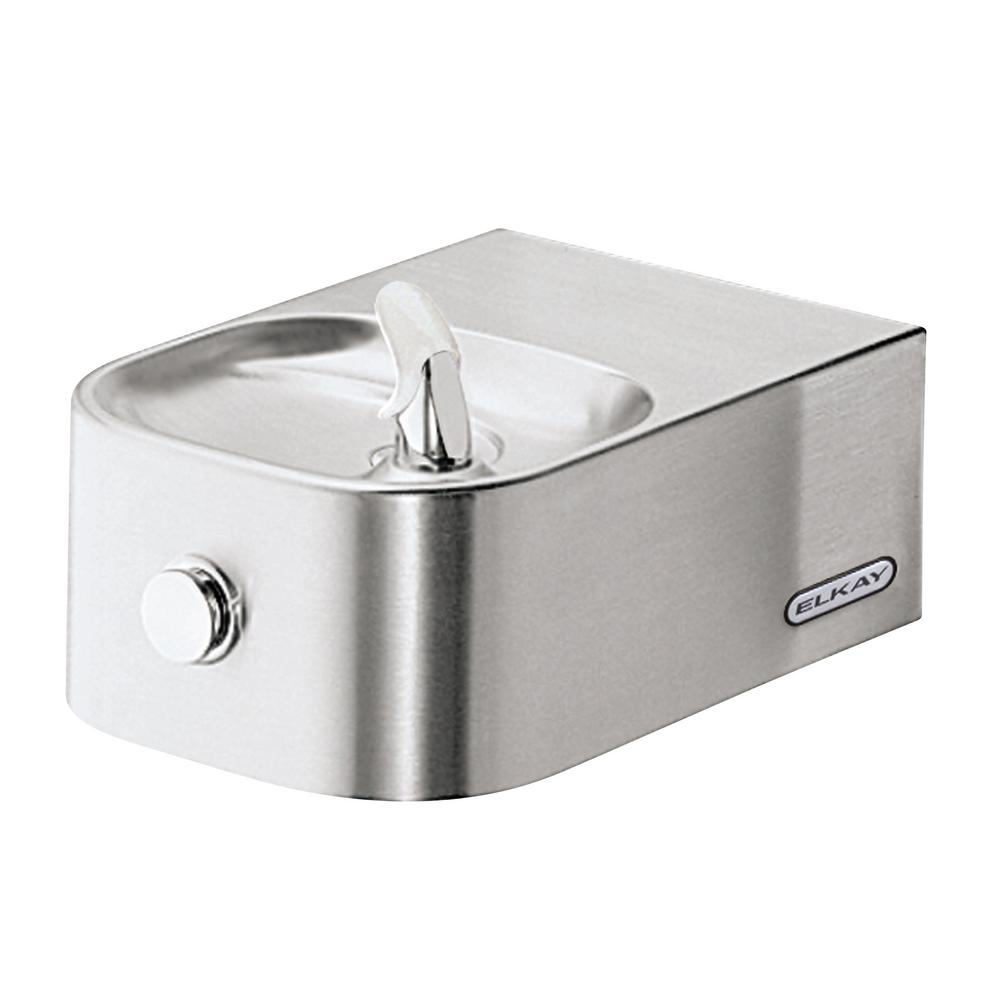 Elkay Soft Sides Single Wall Mounted Drinking Fountain-EDFP214C ...