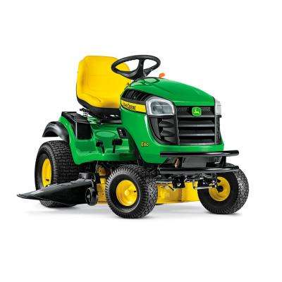 E160 48 in. 24 HP V-Twin ELS Gas Hydrostatic Lawn Tractor-California Compliant