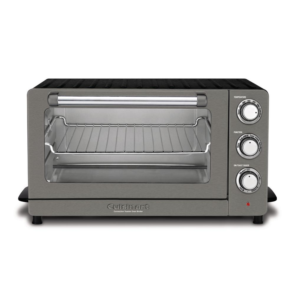 1f13c71da67 Cuisinart Toaster Oven Broiler with Convection in Our New Black Stainless