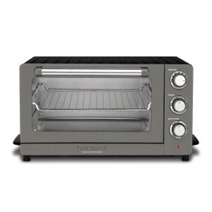 Cuisinart Toaster Oven Broiler with Convection in Our New Black Stainless by Cuisinart