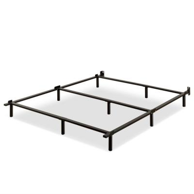 Paige Black Twin/Full/Queen Metal Compack Adjustable Bed Frame