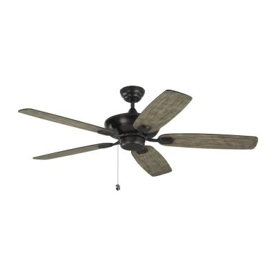 "Colony Max 52"" Indoor/Outdoor Aged Pewter Ceiling Fan"