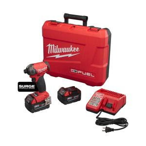 Milwaukee M18 FUEL SURGE 18-Volt Lithium-Ion Brushless Cordless 1/4 inch Hex Impact Driver Compact Kit w/(2)... by Milwaukee