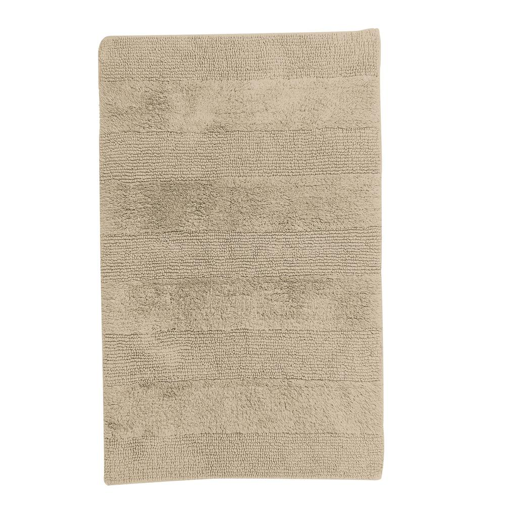 TheCompanyStore The Company Store Company Cotton Jute 21 in. x 34 in. Reversible Bath Rug