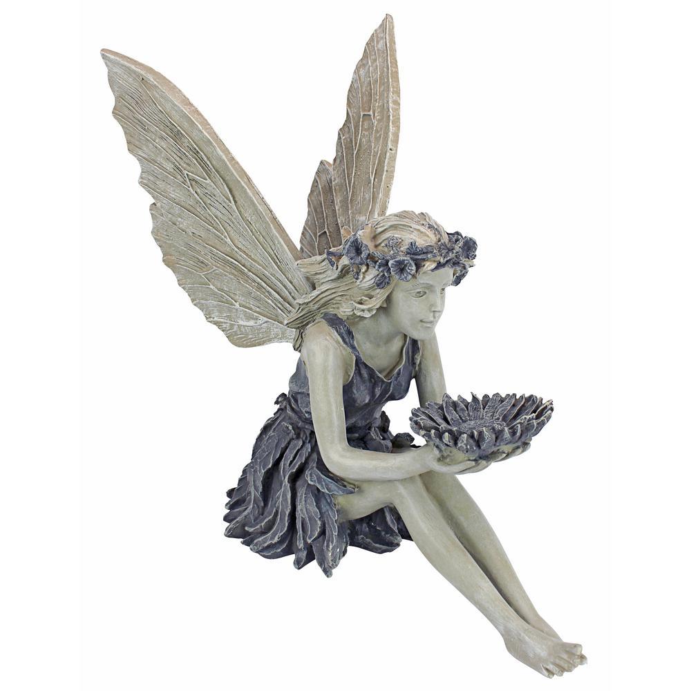 Design Toscano 19 5 in  H The Sunflower Fairy Statue