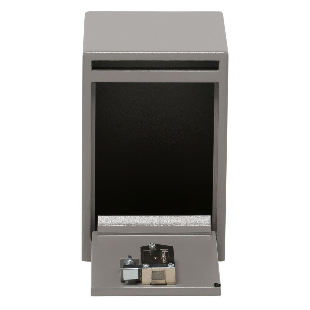 0.39 cu. ft. Depository Safe Key Lock Under Counter Drop Slot