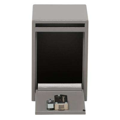 0.39 cu. ft. Depository Safe Key Lock Under Counter Drop Slot Safe