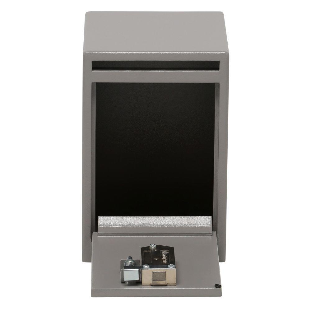 0.39 cu. ft. Depository Safe Key Lock Under Counter Drop Slot Safe