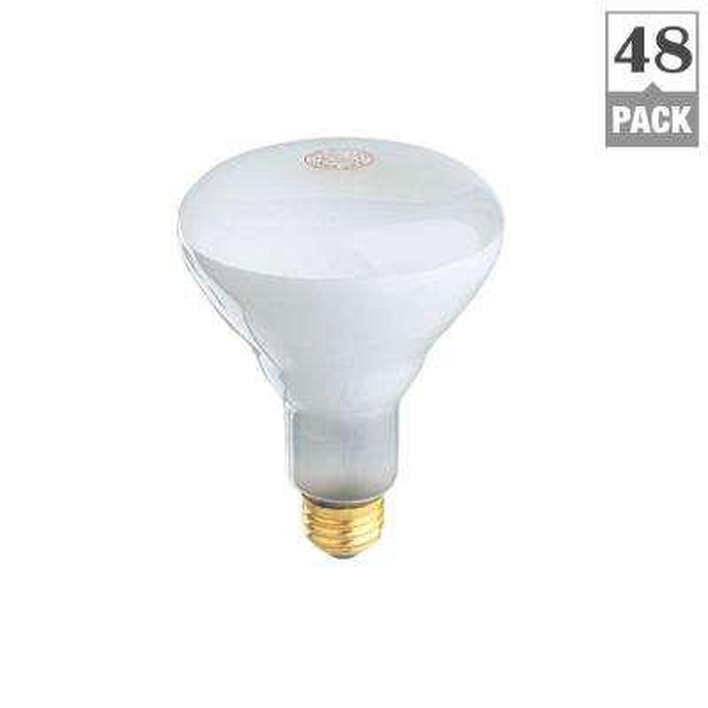 65-Watt Soft White Dimmable Incandescent BR30 Flood Light Bulb Maintenance Pack (48-Pack)