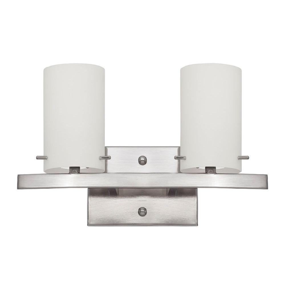Vanity Lights Too Bright : Luminance Ledbury 3-Light Bright Satin Nickel Vanity Light-F3153-80 - The Home Depot