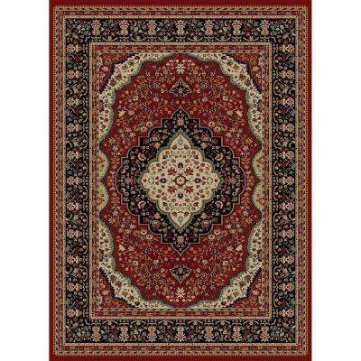 Ankara Kerman Red 2 ft. 7 in. x 4 ft. 1 in. Accent Rug