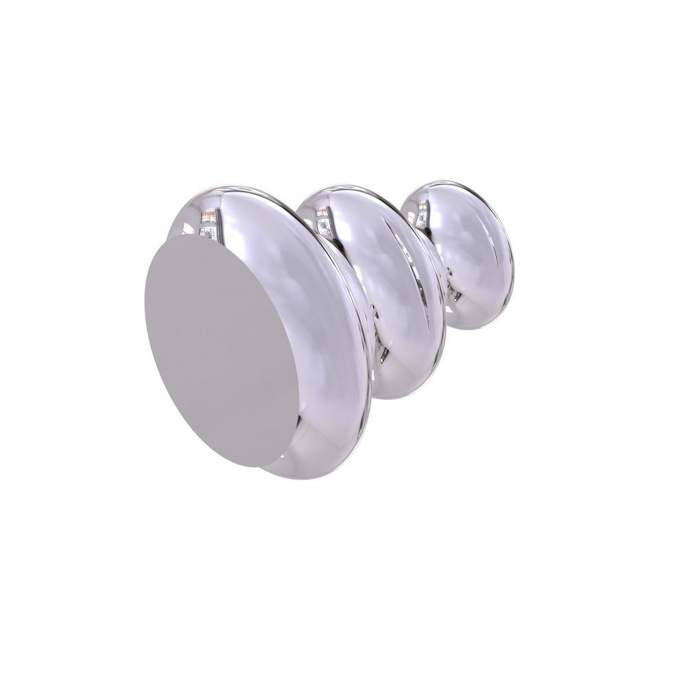 Designer Cabinet Knob in Polished Chrome