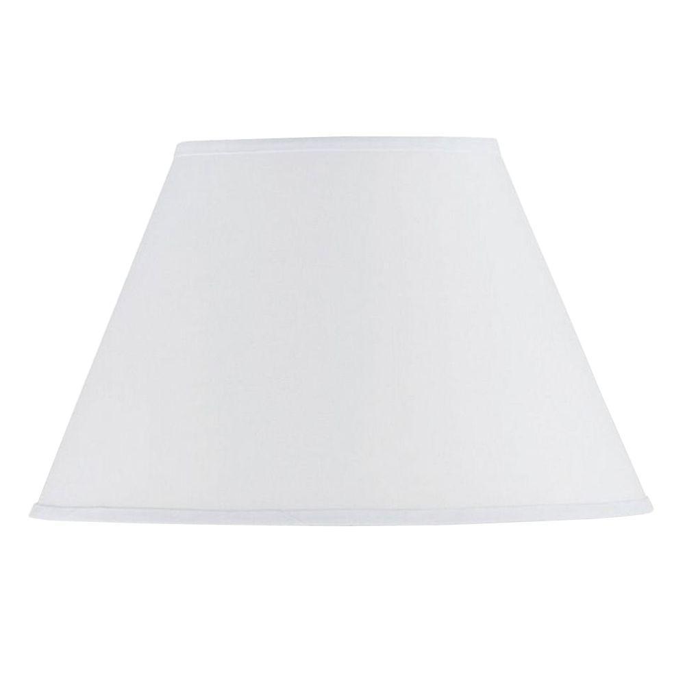 Cal lighting 115 in white hardback fabric lamp shade sh 1332 the cal lighting 115 in white hardback fabric lamp shade aloadofball Image collections