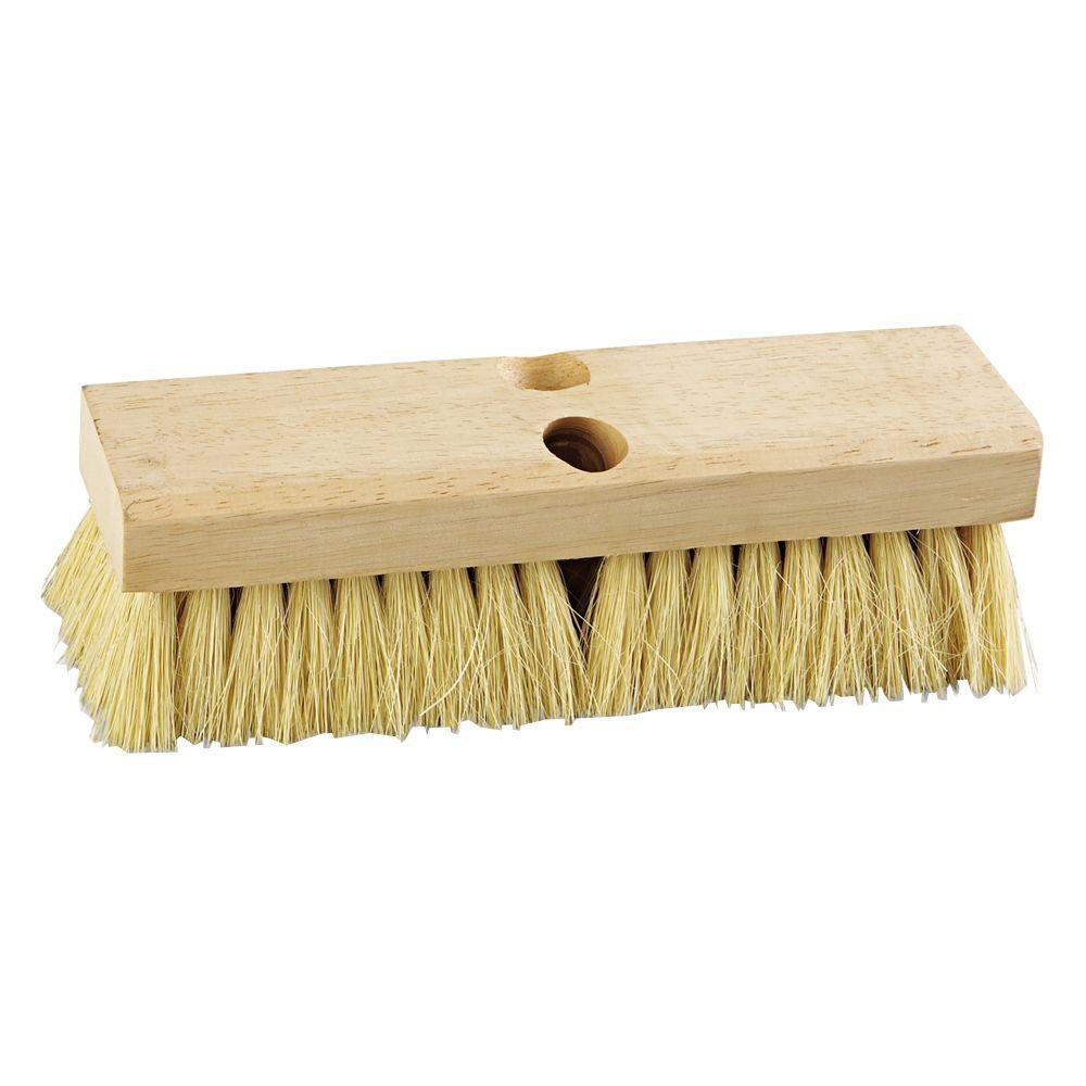 10 in. Tampico Bristles Deck Brush Head