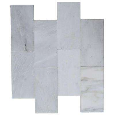 Oriental 3 in. x 6 in. x 8 mm Marble Wall Tile (32 pieces 4 sq. ft./Box)