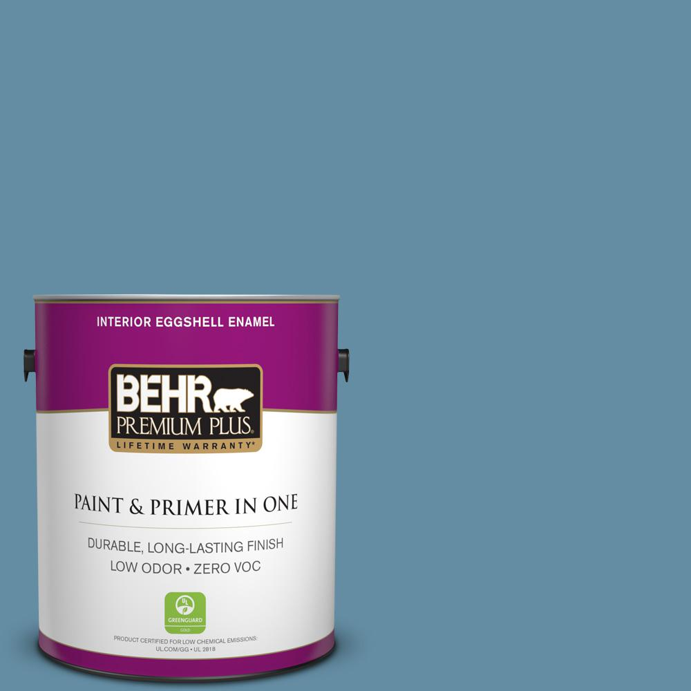 1 gal. #PPU14-04 French Court Zero VOC Eggshell Enamel Interior Paint