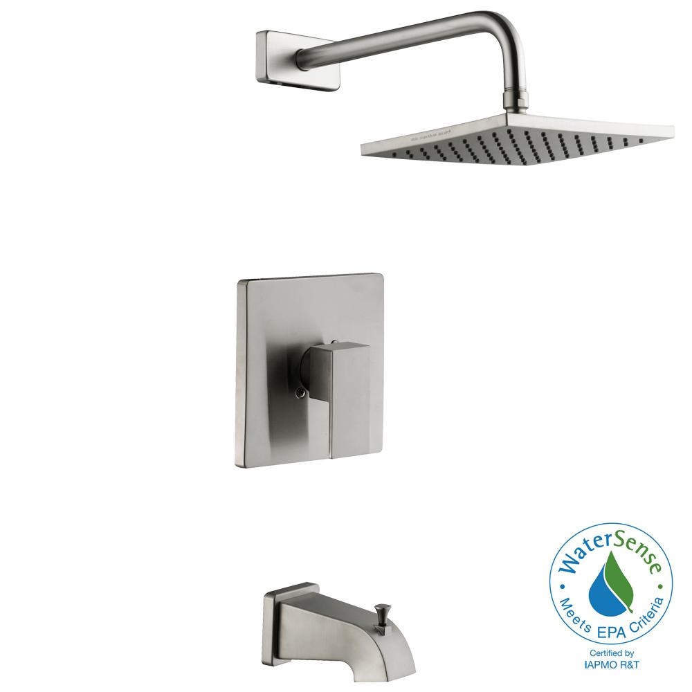 Schon Marx Single Handle 1 Spray Tub And Shower Faucet In